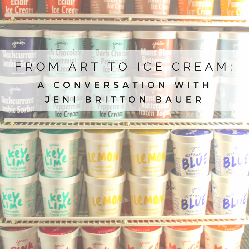 From Art to Ice Cream: A Conversation with Jeni Britton Bauer
